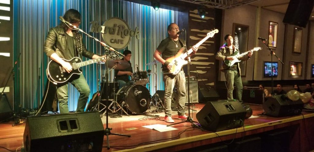 Banda Emerald en el Hard Rock